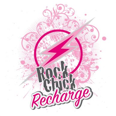 Rock Chick Recharge Logo
